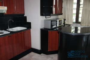 Rare item .Heart of Sukhumvit 16,  2 bedrooms 113 sqm. High floor with superb city view.