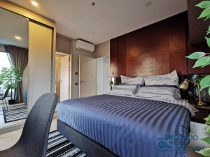 Lumpini Suite Phetchaburi - Makkasan for rent, 2 bedrooms 61 sqm. Great view.