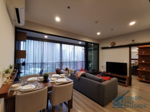 Ideo Mobi Asoke condo for rent, Fully furnished 2 bedrooms 61 Sq.m. Close to Airport Link and MRT Petchaburi