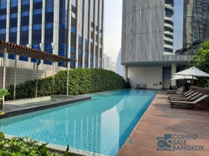 Magnolia Ratchadamri, Full Furnished 2 bedrooms 108.08 Sq.m. for rent. Close to BTS Ratchadamri and CentralWorld