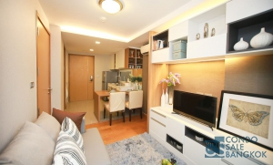 Interlux condo for sale at Sukhumvit 13, 1 BR 38.83 Sq.m. Close to BTS Nana and There is a tuk tuk shuttle service.