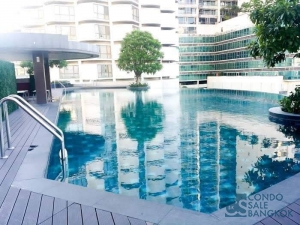 Sell with Tenants at 15 Sukhumvit Residences, 1 BR 28.1 sqm. Walking distance to BTS Nana-Asoke