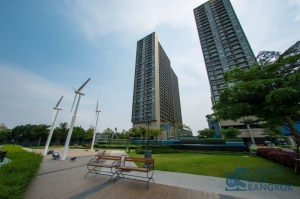 Sale with Tenant ! Condo at Ratchaburana with Chaopraya River view. 1 bedroom high floor.