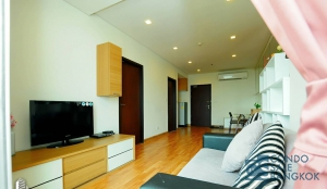 Fully furnished condo Le Luk for sale near BTS. Very high floor 48.92 sq.m. 1 bedroom. Good price